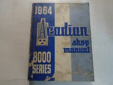 1964 Pontiac Acadian 8000 Series Shop Manual DAMAGED STAINED FACTORY OEM DEAL 64