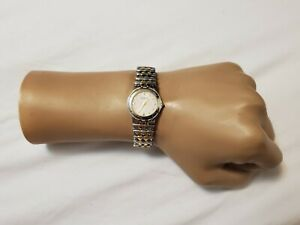 Wittnauer 12L14 Women's Dress White Dial Two-Tone Stainless Steel Swiss Watch