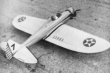 "Model Airplane Plans (UC): P-26 Pea-Shooter 61"" Stunt for .35-.60 by Jack Sheeks"