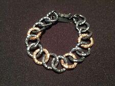 Nuevo - Pulsera  Vintage Plata & Oro - Vintage Bracelet of Silver & Gold - New