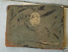 1918 William Penn Pennsylvania High School Yearbook