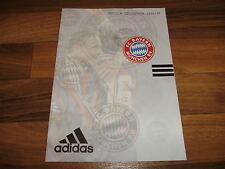 ADIDAS REPLICA COLLECTION 1996/1997 KATALOG: FC BAYERN MÜNCHEN