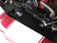 67-69 Camaro Radiator Show Filler Panel 1 pc Polished Ball Mill 1CA-08P