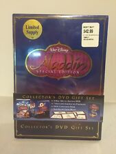 Aladdin Collectors DVD Gift Set Special Edition - Brand New With BB Price Tag