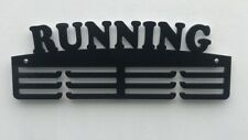 Personalised 5mm Acrylic 3Tier RUNNING Medal Hanger with Spacers