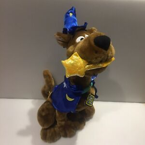 """Wizard Original Large Scooby Doo Soft Toy 16"""" Tall Plush Cuddly Toy WITH TAGS"""