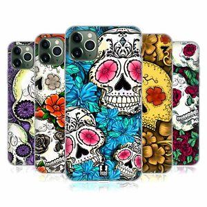 HEAD CASE DESIGNS FLORID OF SKULLS GEL CASE & WALLPAPER FOR APPLE iPHONE PHONES