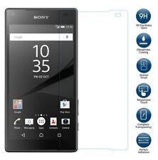 """PREMIUM CLEAR LCD TEMPERED GLASS SCREEN PROTECTOR FOR SONY XPERIA Z5 5.2"""""""