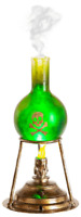 HALLOWEEN GEMMY TABLE TOP MISTING LAB BEAKER PROP DECORATION-MOTION ACTIVATED