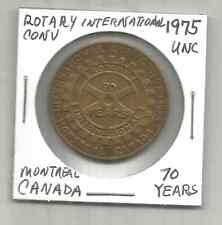 (O) 1975 UNC Rotary International Convention 70 Years Montreal, Canada