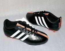 adidas B40159 11 Nova FG J Leder Fußball schuhe Soccer 38 2/3 US 6 Black White