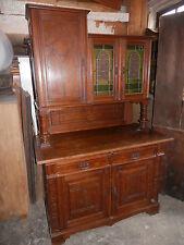 Aufsatzbuffet um 1900 Eiche gotischer Stil schönes imposantes Möbel Pos.120 b