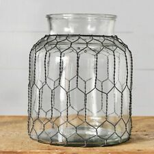 Wide Mouth Wire Caged Jar