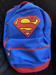 Superman Backpack with Cape and Pencil Bag