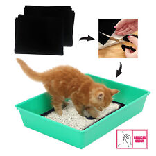 Universal Cut to Size Odour Active Carbon Filters Cat Dog Pet Tray Litter x 2