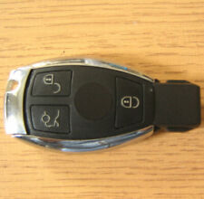 Replacement 3 Button Smart Remote FOB Flip Key Case for Mercedes C E S Class CLK