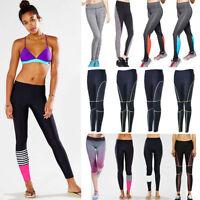 Donna Yoga di Allenamento Fitness Leggings Elasticizzato Sport Palestra