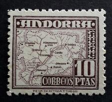 Andorre Espagnol, 1948, 10 pesetas, MNH