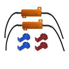 2x Widerstand 50 Watt 6 Ohm H1 H3 H7 H8 H11 HB4 12 V Can-Bus LED Wiederstand W