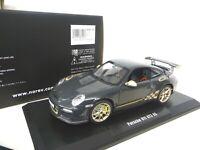 1:18 NOREV PORSCHE 911 997 GT3 RS Grau / Gold NEU NEW