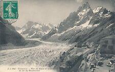 CPA - Transports - Tram - Tramway - Chamonix - Mer de Glace et Chemin de fer