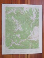 Pagosa Junction Colorado 1959 Original Vintage USGS Topo Map