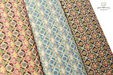 """100% Cotton Lawn, Liberty William Morris Inspired Gold Foil , High Quality 58"""""""