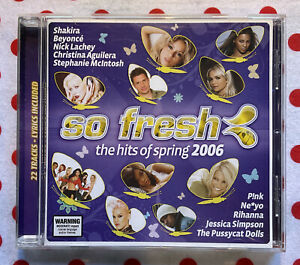 SO FRESH Compilation Pop BEST OF 2006 Spring Retro Music Collectable CD