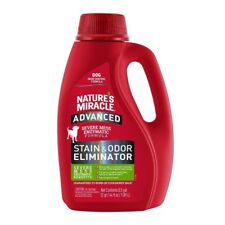 Nature's Miracle Advanced Stain & Odor Remover 64oz Free shipping New Formula
