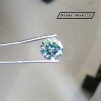Loose Moissanite Diamond Intense Blue VVS1 Clarity.Moissanite Gemstone For Ring