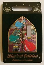 Disney Store Europe/UK Stained Glass Window Sleeping Beauty 3 Fairies Pin LE 800