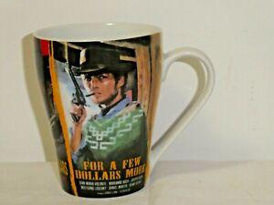 1985 Spaghetti Westerns Mug Cup Clint Eastwood 3 Movies Micro/Dish Safe 11cm Hig