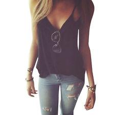 Fashion Women Summer Vest Top Sleeveless Shirt Blouse Casual Tank Top T-Shirt