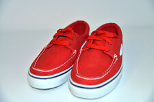 New Ecko Unltd Red Low-Top Canvas Athletic Boat Casual Sneakers Shoes Trainers 6