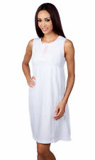 Hering Junior Women's Light Cotton Pajama Night Gown Sleepwear 7631