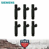 6 x Siemens Deka 60lb 650cc Fuel Injector suit BA BF Ford Falcon XR6 Turbo & F6