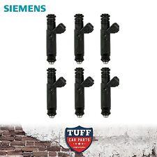 6 x Siemens Deka 60lb 650cc Fuel Injector suit BA BF Ford Falcon XR6 Turbo & F6