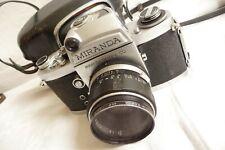 Camera MIRANDA Camera Co + case nice used condition ... F2