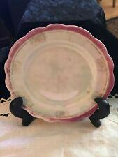 Small Antique Porcelain Dessert Plate