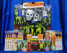 Zombie Party Set # 34 Zombie Party Supplies Zombie Tattoo Favors For 18