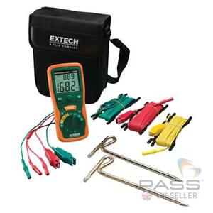 Extech 382252 Earth Ground Resistance Tester Kit - 20 to 2000Ω
