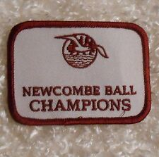 "Newcombe Ball Champions Patch - 3 3/8"" x 2 1/2"""