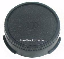 Camera Rear Lens Cap Caps Cover For Canon FD FL Lens w/ logo Register