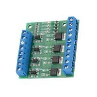 PWM 4Channel Module PLC Amplifier Circuit Board Driver Module 3-20V to 3.7-27V