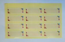 144 Marmelade Glas Etiketten Aufkleber Sticker Einkochen Einwecken Label Obst