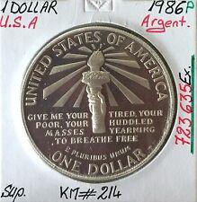 U.S.A - 1 DOLLAR - 1986 P - Pièce de Monnaie en Argent - Qualité : SUP