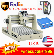 New listing Cnc3040 400W 3 Axis Router Engraver Usb Wood Driller Miller Machine + Controller