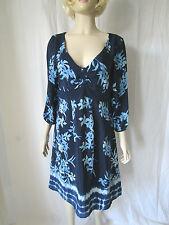 Monsoon V-Neck Short Sleeve Floral Dresses for Women