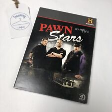 Pawn Stars: Season Two (DVD, 2010, 4-Disc Set) History Channel Addt'l Footage