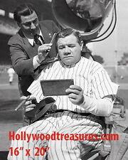 """Babe Ruth~NY Yankees~Sports Bar Poster~Barber~Photo~Stylist~Poster~16"""" x 20"""""""